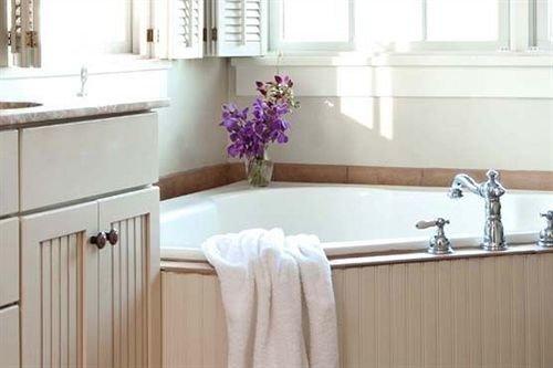 B&B Bath bathroom property countertop sink plumbing fixture bathtub cottage flooring bathroom cabinet toilet