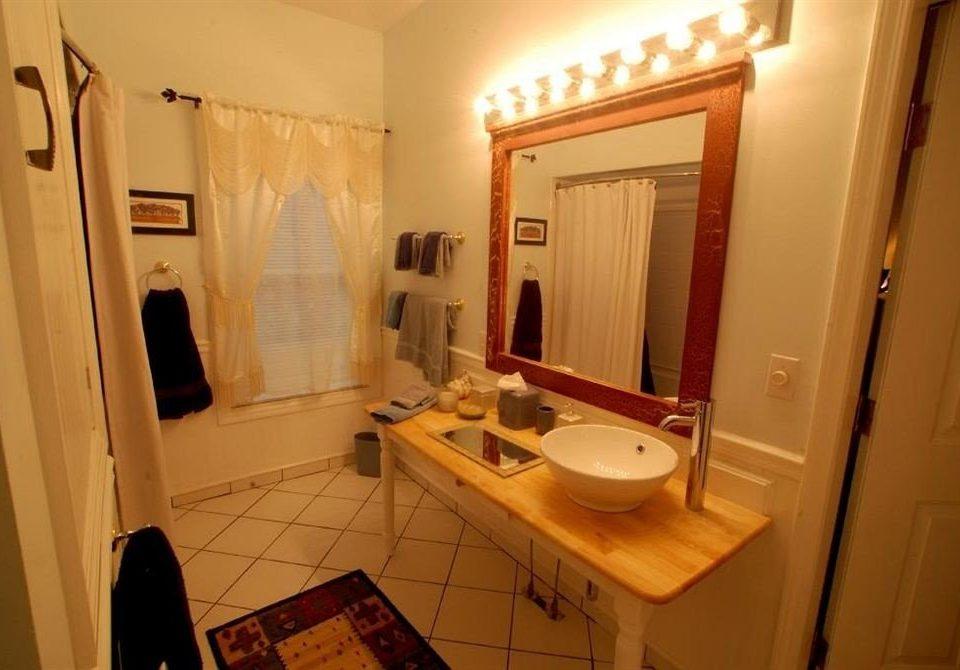 B&B Bath bathroom mirror property house home cottage sink Suite Bedroom tiled
