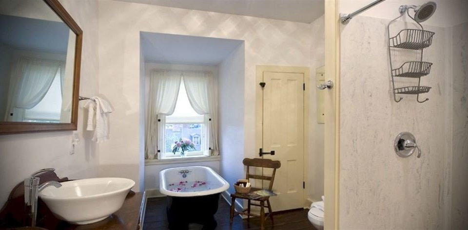 B&B Bath Historic bathroom property sink home toilet cottage plumbing fixture Suite tub bathtub