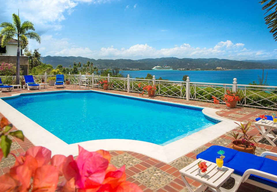 B&B Beach Budget Pool Sea sky water umbrella swimming pool leisure property Resort blue caribbean colorful Villa resort town swimming
