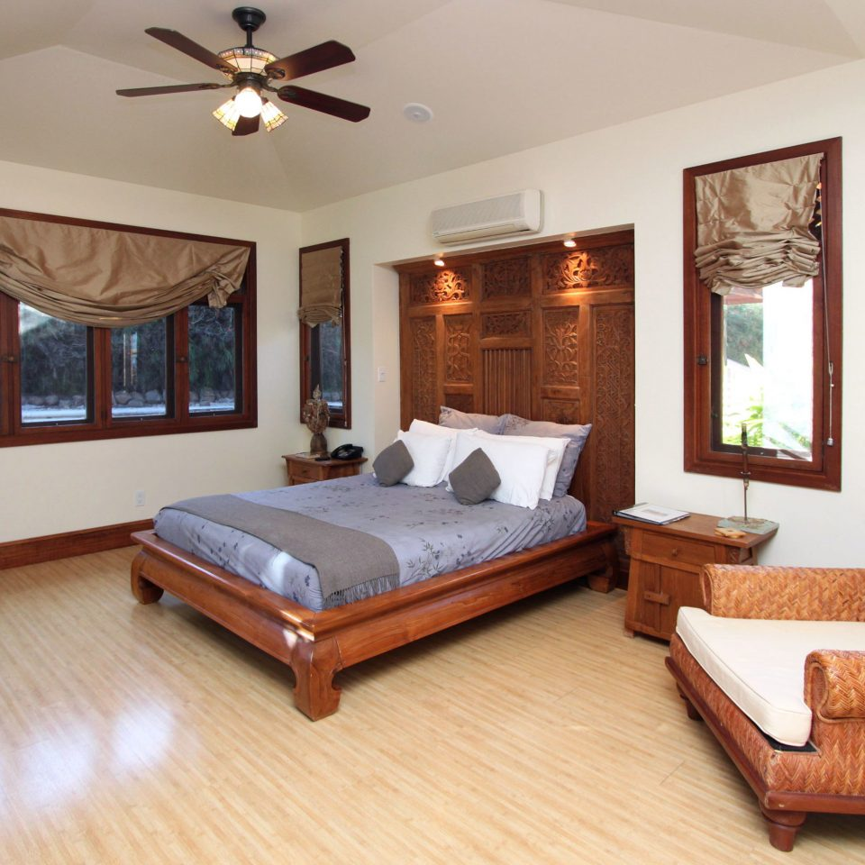 B&B Bedroom Mountains Outdoor Activities property home living room Suite hardwood cottage Villa wood flooring