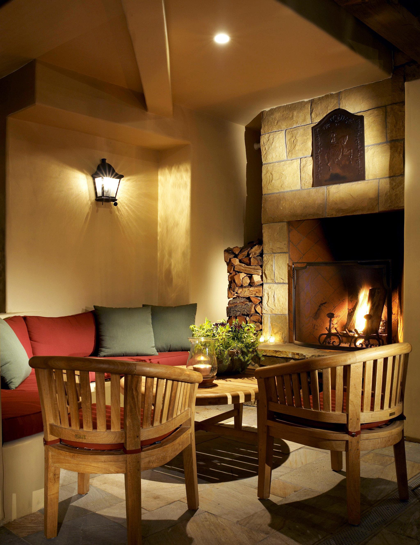 B&B Boutique Fireplace Inn Lounge living room home hardwood lighting cottage hearth farmhouse