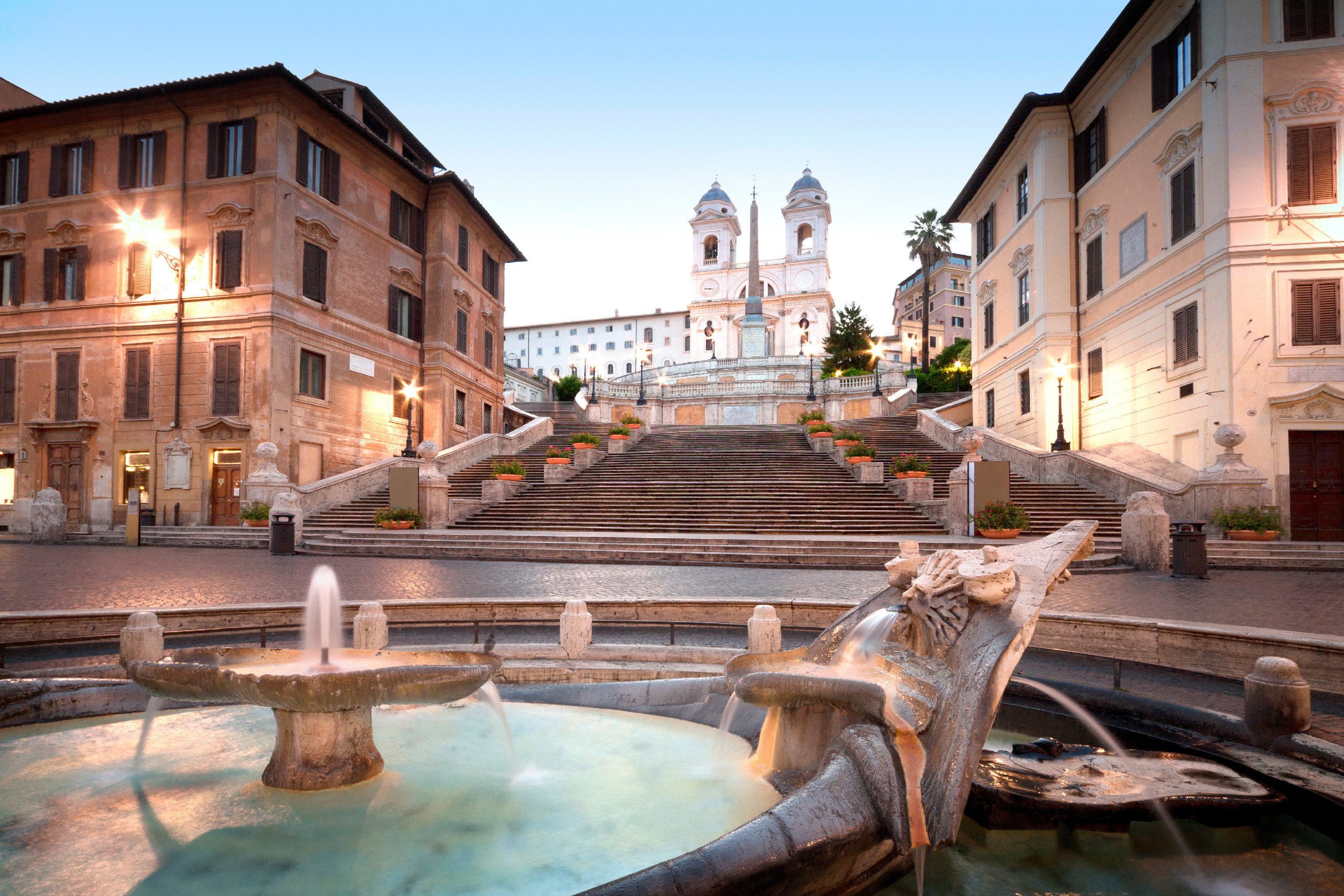B&B Buildings City Landmarks Monuments building landmark Town plaza old palace thermae waterway Courtyard ancient rome town square water feature