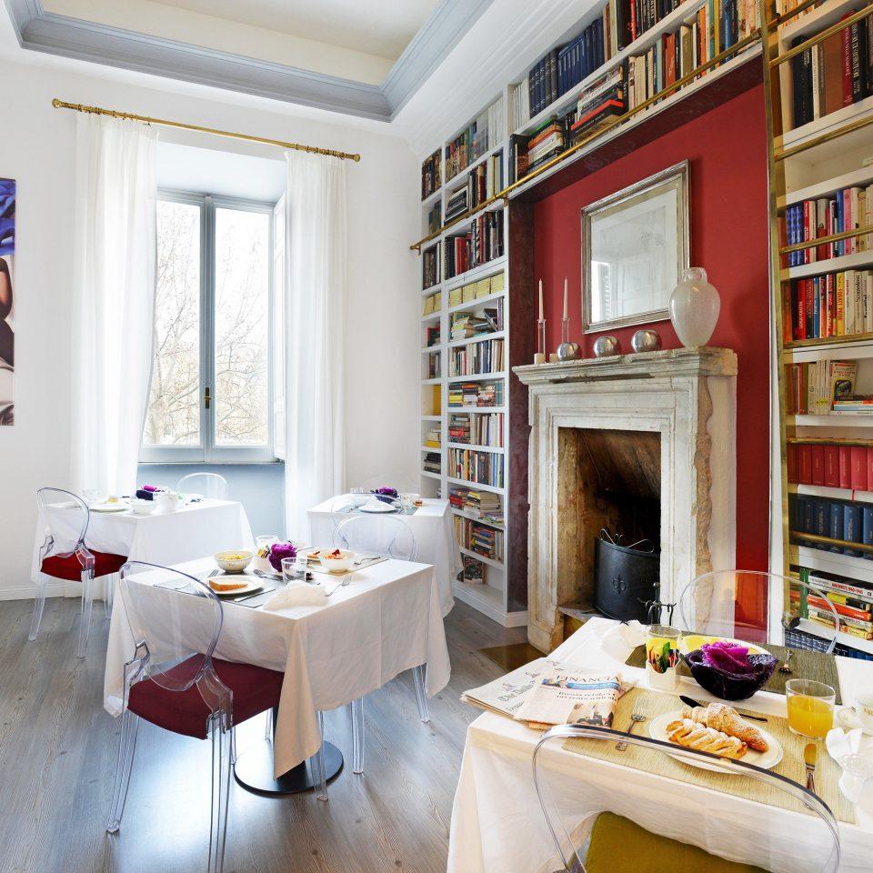 B&B City Dining Eat property living room home house shelf cottage