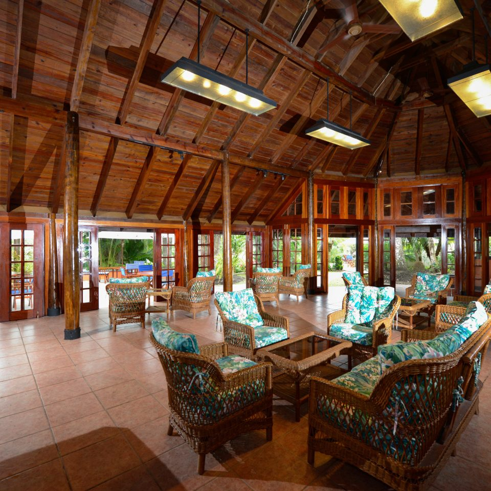 B&B Eco Lobby Lodge Lounge Romantic Tropical Resort restaurant