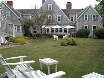 B&B Exterior Romantic grass house lawn property building home residential area cottage siding old outdoor structure porch yard backyard residential stone