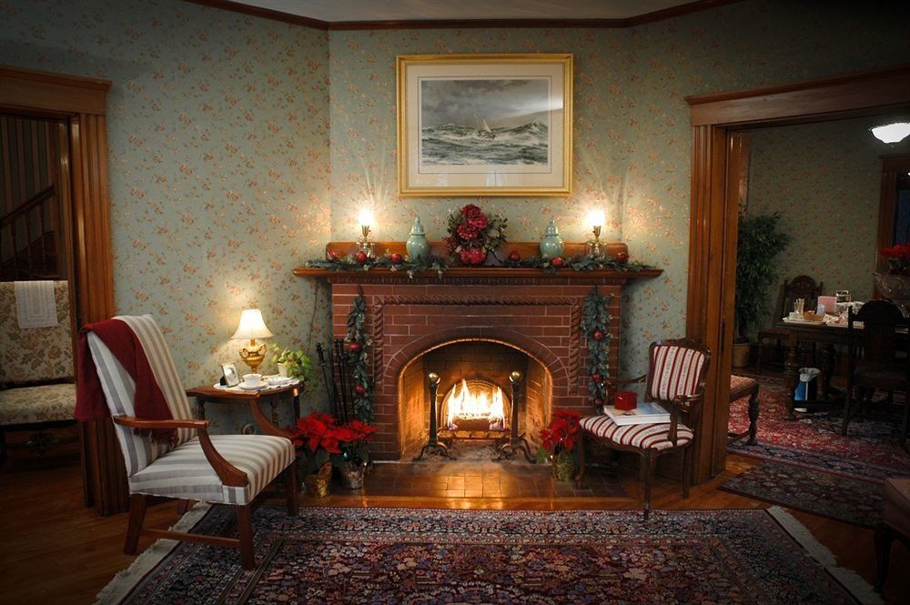 B&B Fireplace Lounge Romantic property hearth living room home hardwood cottage mansion