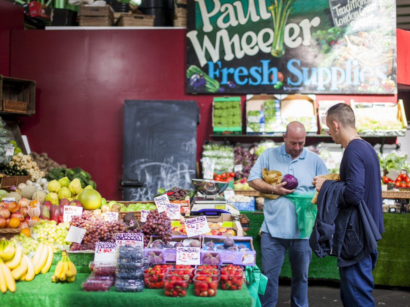 activities Budget crowd europe farmers market Food + Drink fresh interior market people produce stand marketplace fruit public space City vendor booth human settlement grocery store store greengrocer floristry food sense items vegetable sale colorful variety