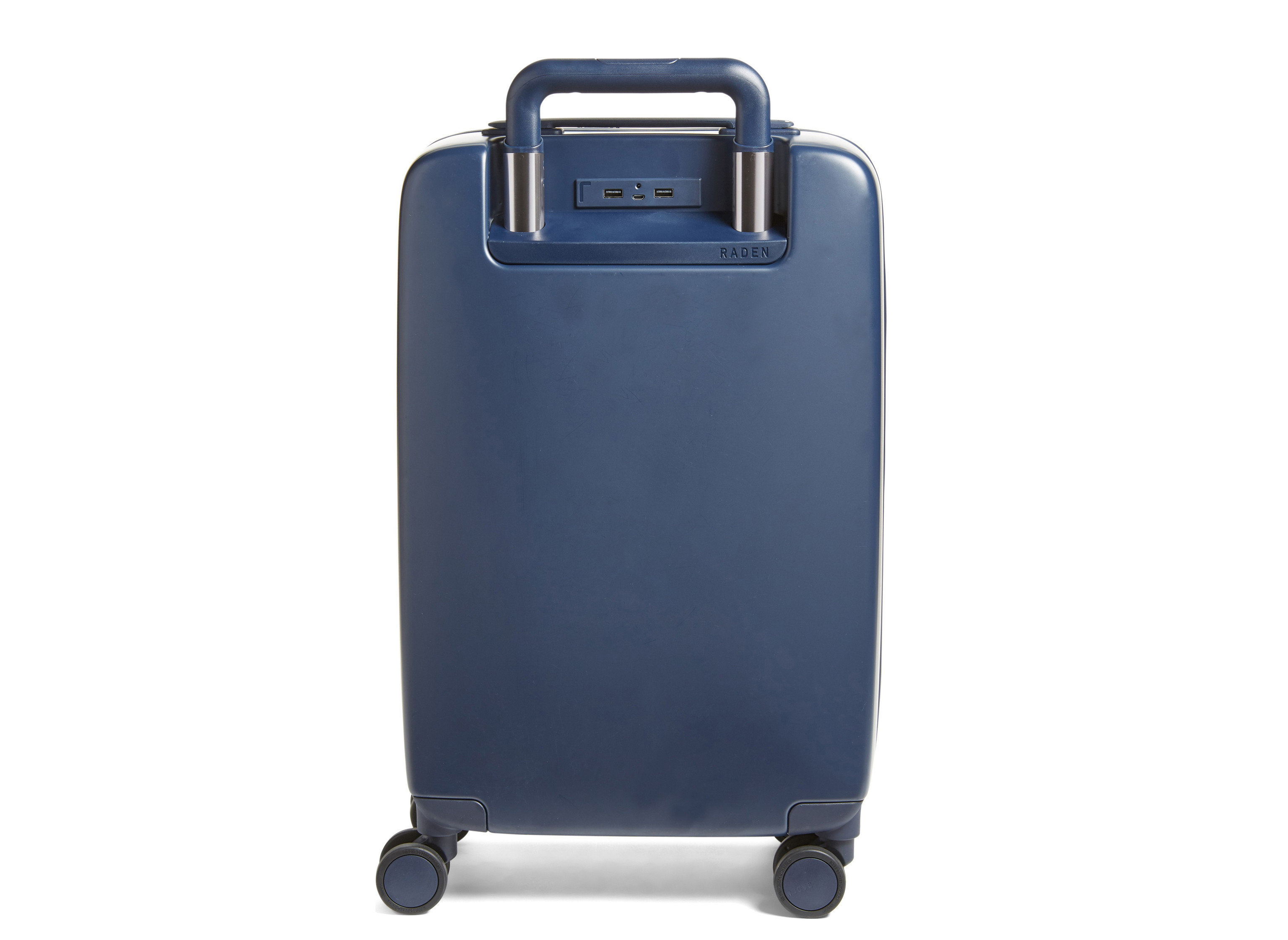Style + Design accessory case suitcase indoor product black electric blue product design trouser press hand luggage
