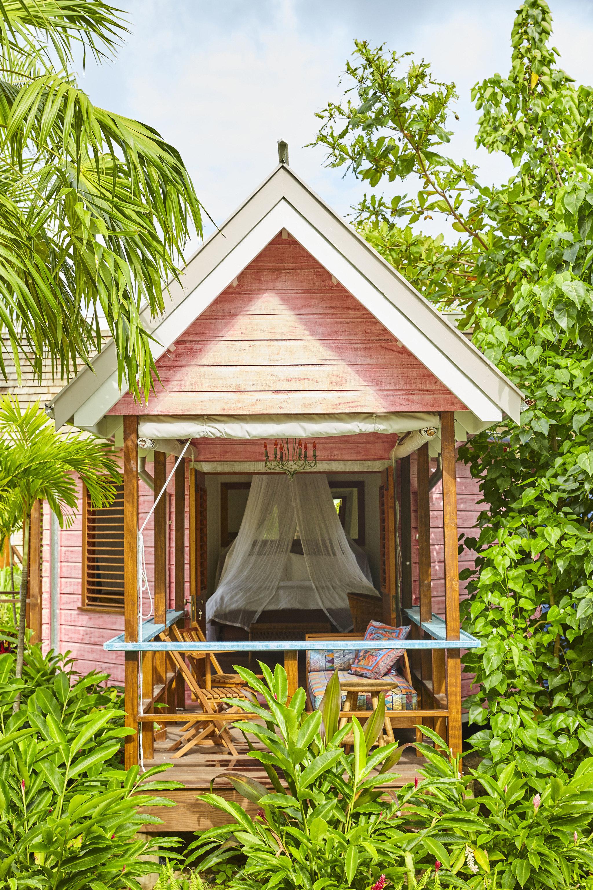 tree building cottage house home outdoor structure shed gazebo plant pavilion backyard hut