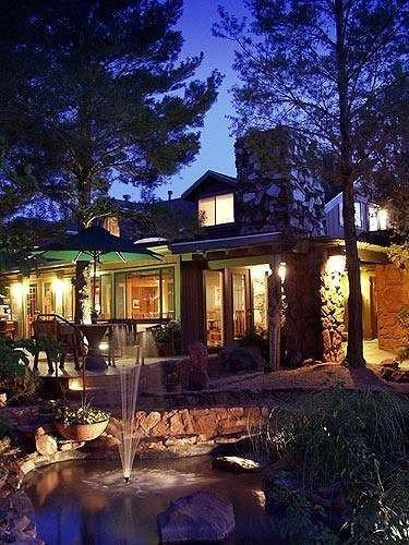 tree property landscape lighting house home night backyard lighting mansion evening cottage