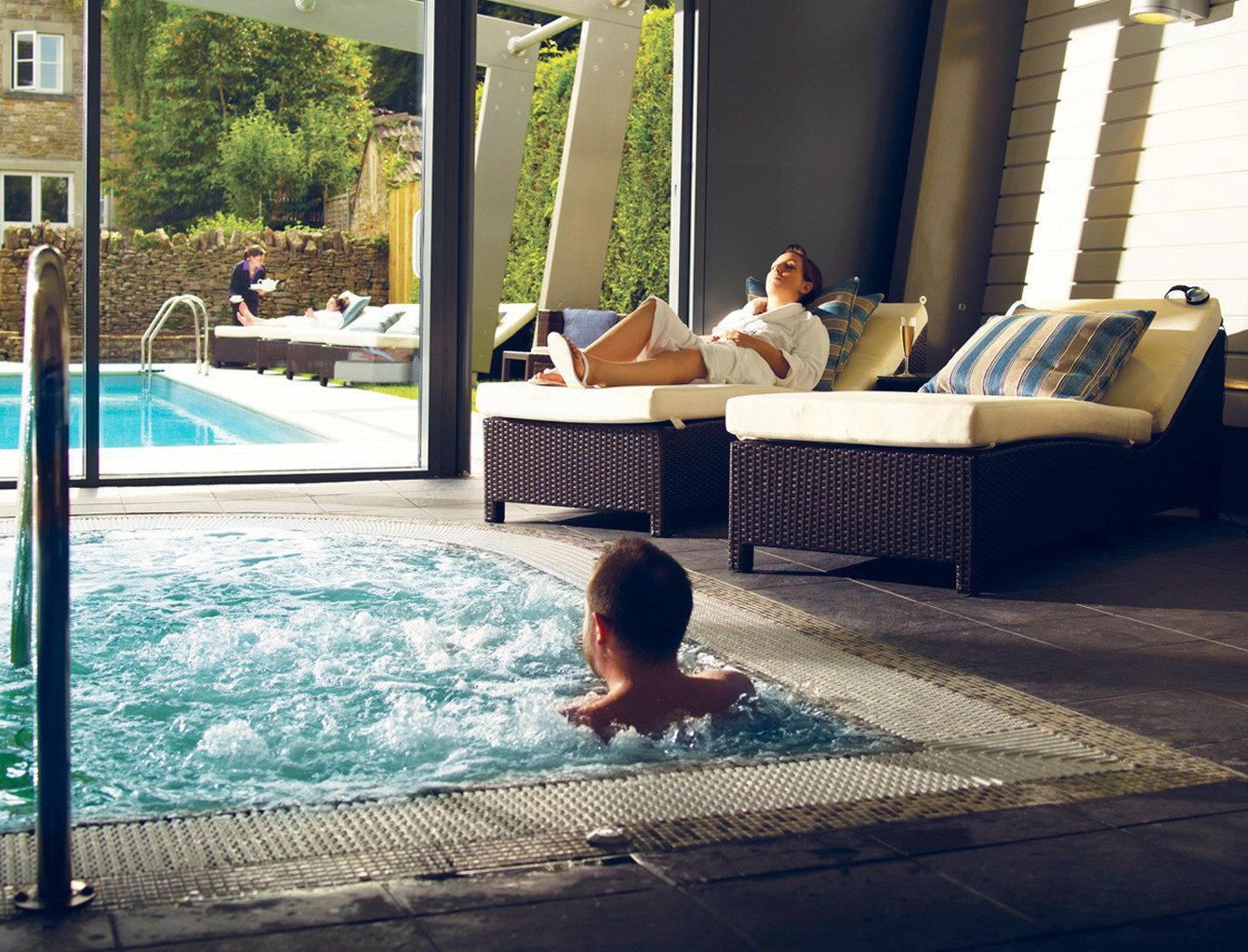 leisure swimming pool backyard