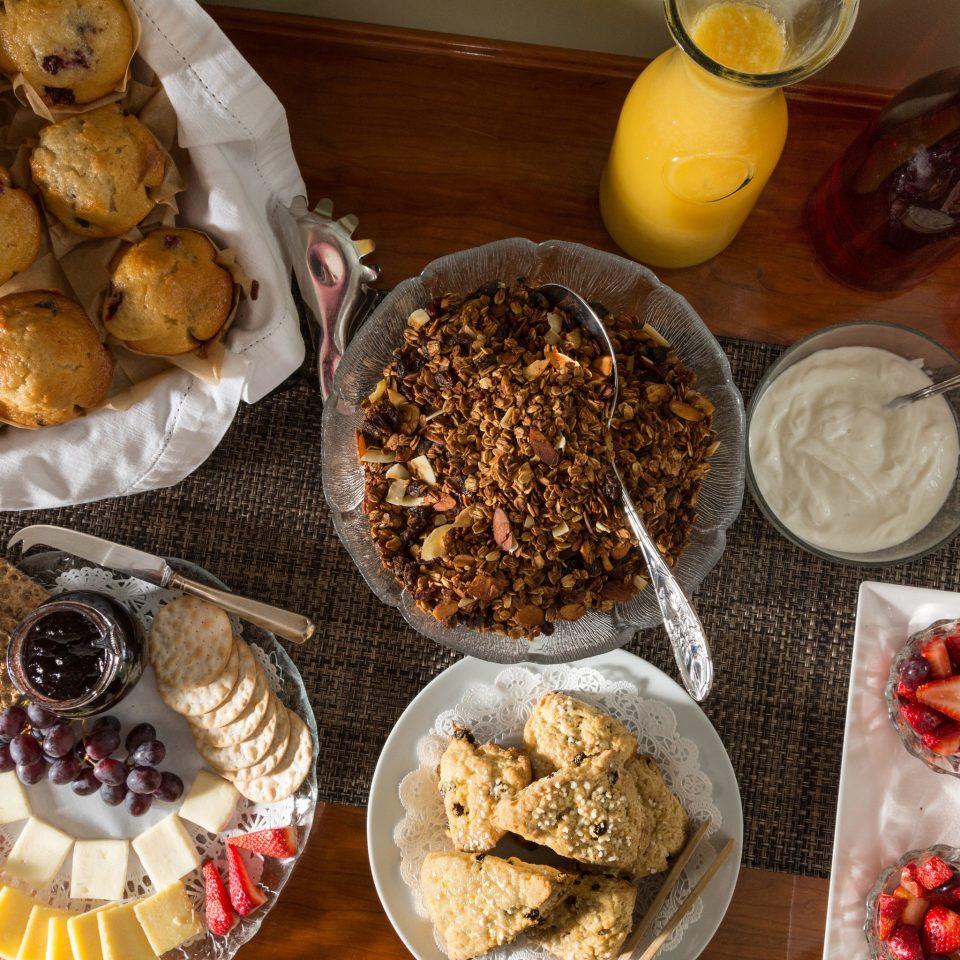 food plate plant dessert breakfast snack food baking baked goods fruit sweetness flavor different