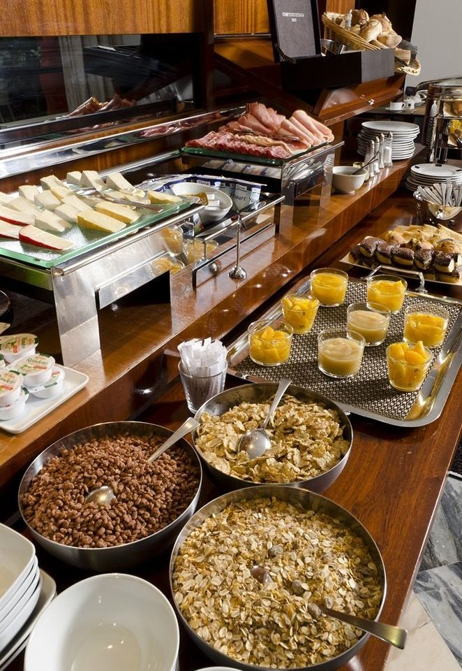 food plate bowl breakfast buffet counter bakery baking dessert pâtisserie brunch different set meat variety