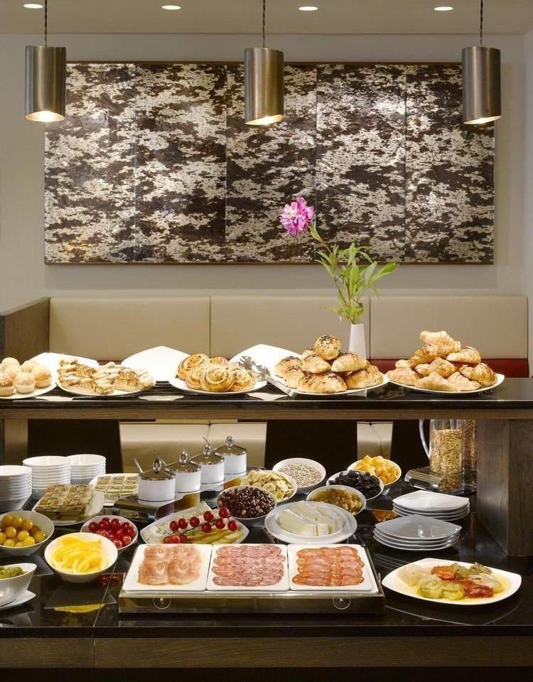 food plate counter brunch buffet breakfast bakery different