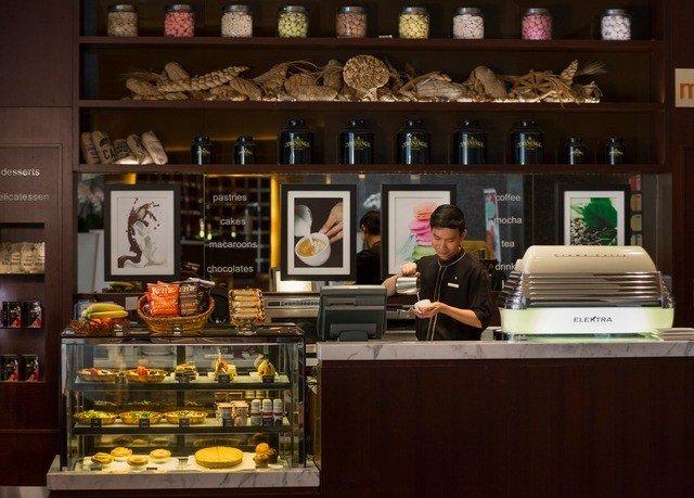 shelf bakery pâtisserie food coffeehouse café