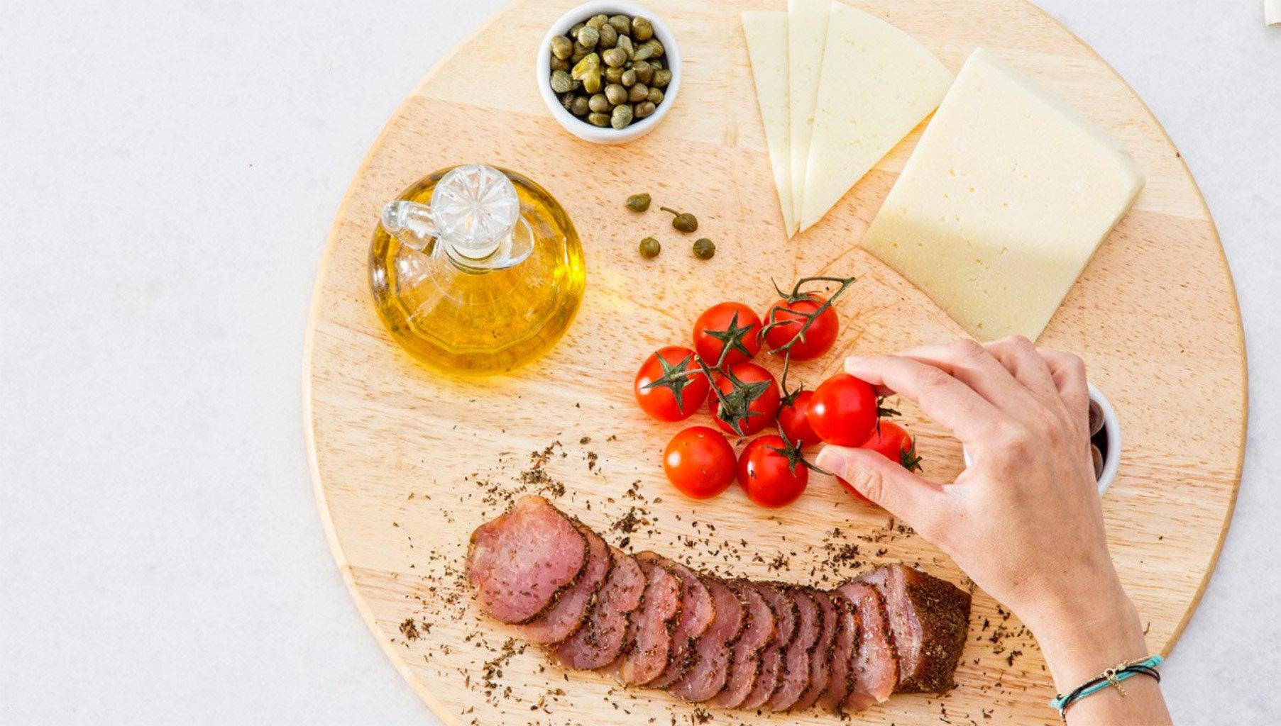 food plate meat fruit cuisine baking vegetable sliced
