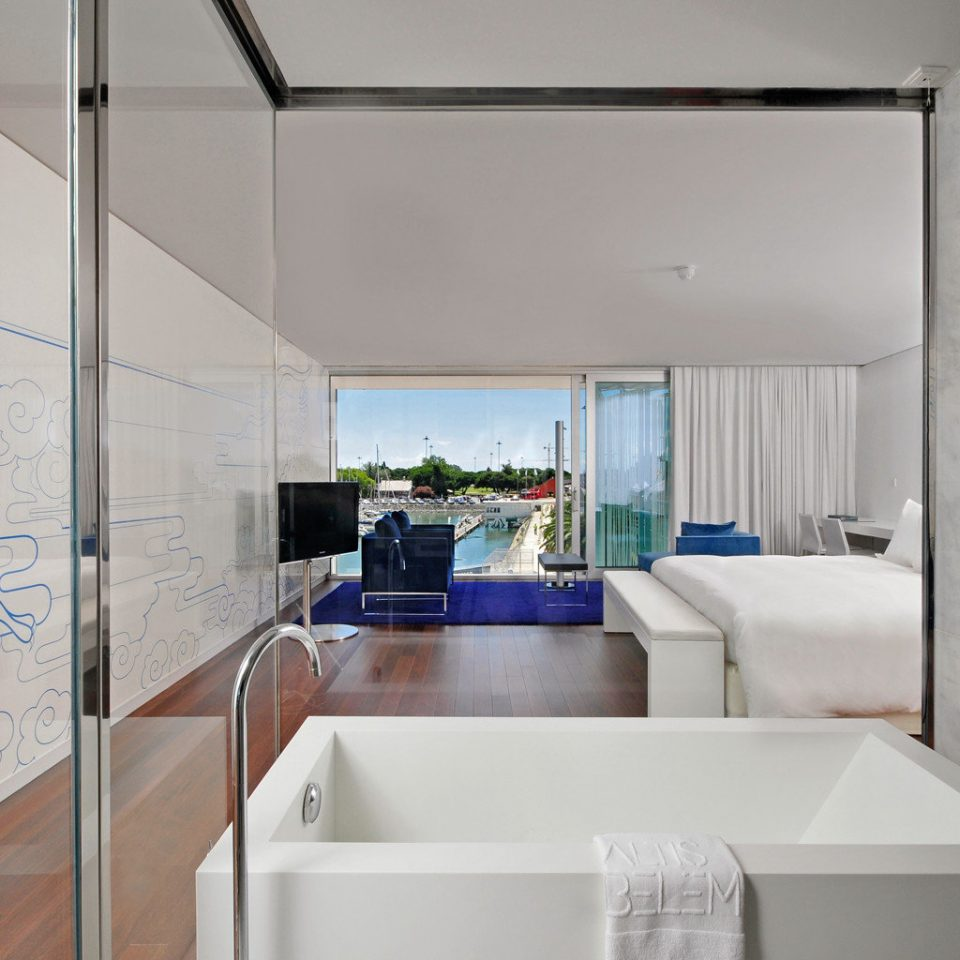 Balcony Bath Bedroom Scenic views Suite property house home white cottage
