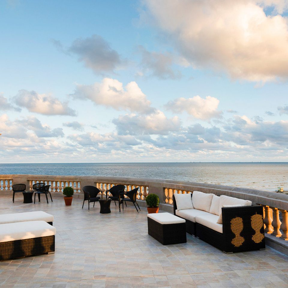 Balcony Beachfront Drink Luxury Resort Rooftop Scenic views Wine-Tasting sky Sea Ocean Coast Beach