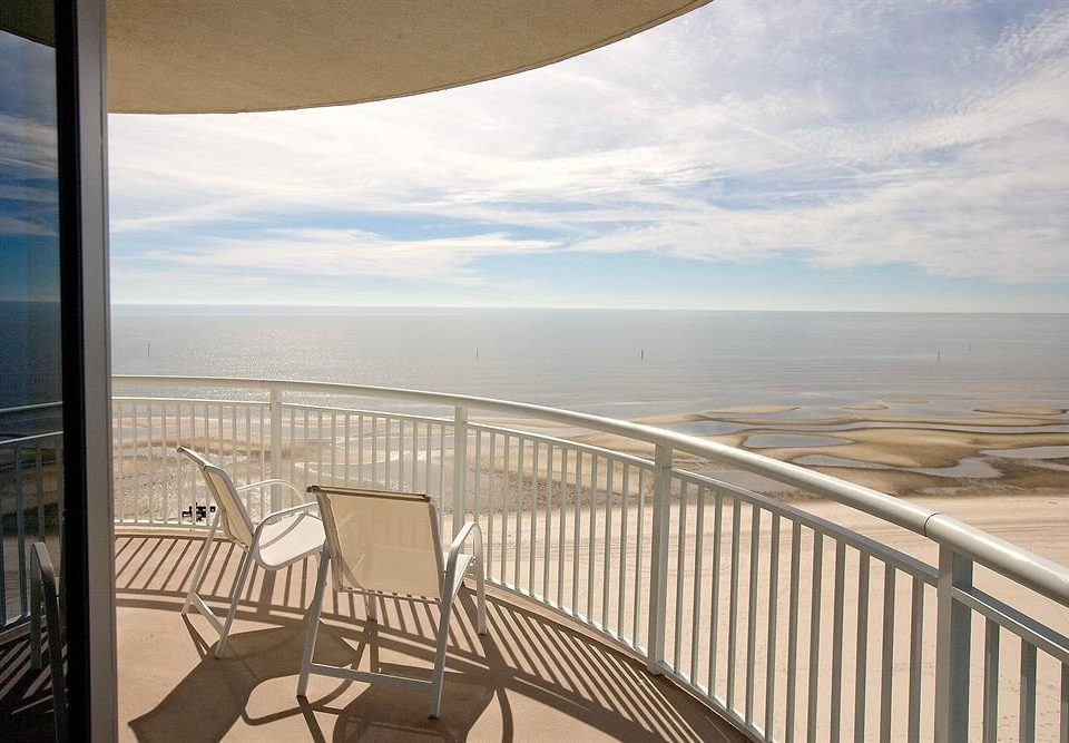 Balcony Beach Classic Ocean Sea Coast Deck overlooking day