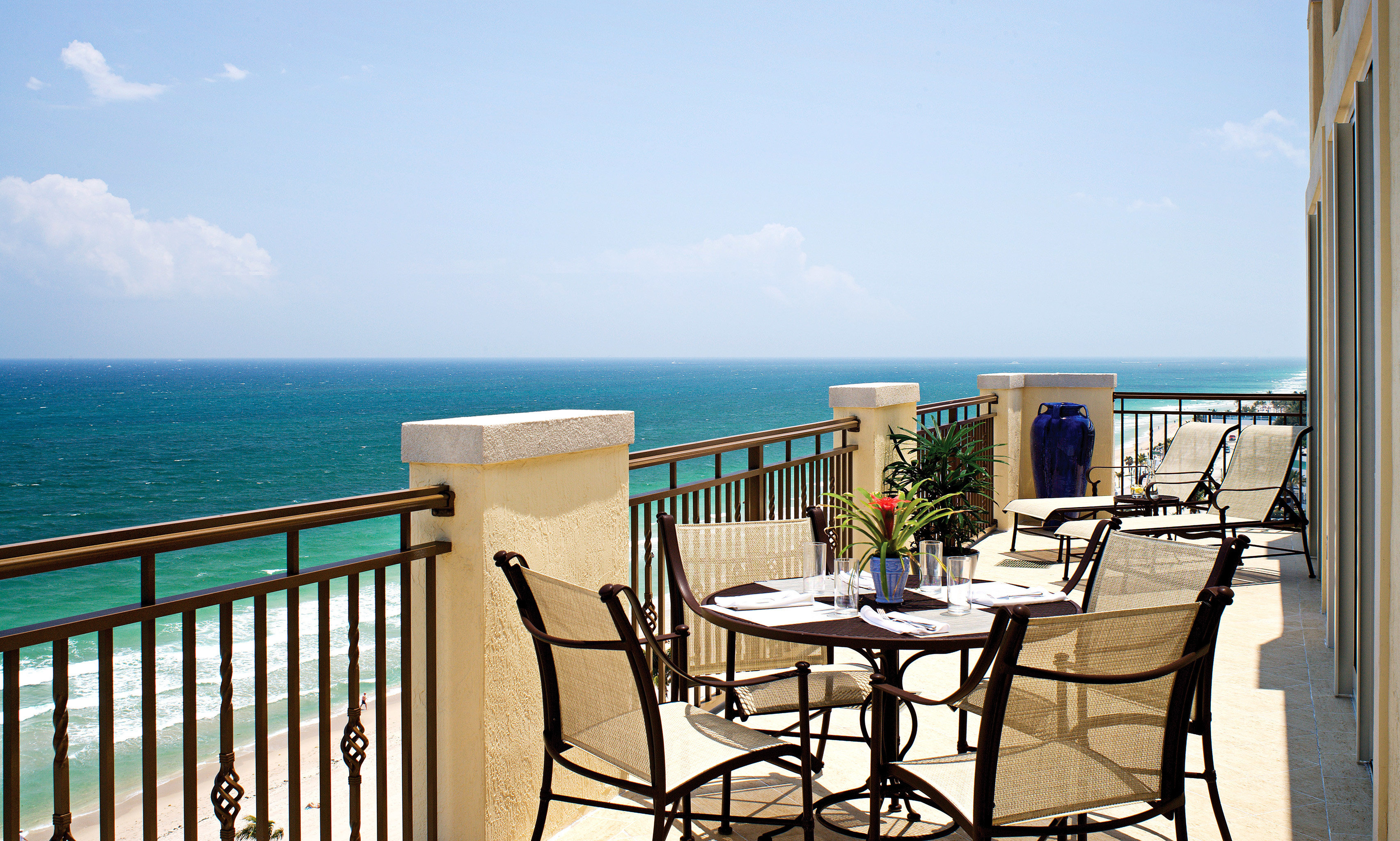 sky water chair property leisure Ocean caribbean Resort Villa Sea Beach Deck home overlooking cottage condominium Balcony shore