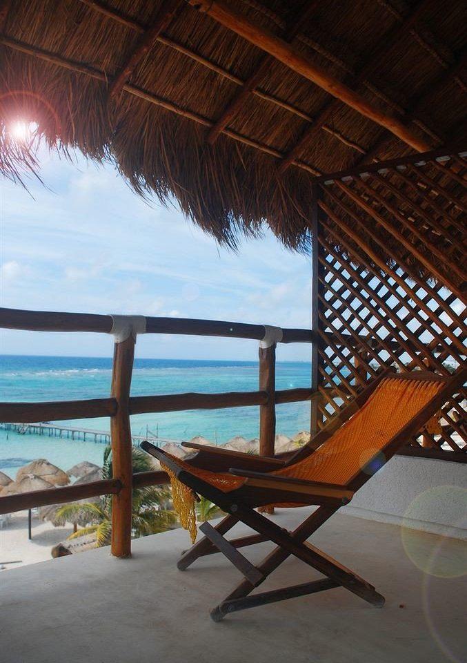 Balcony Beach Deck Ocean chair leisure Resort dining table