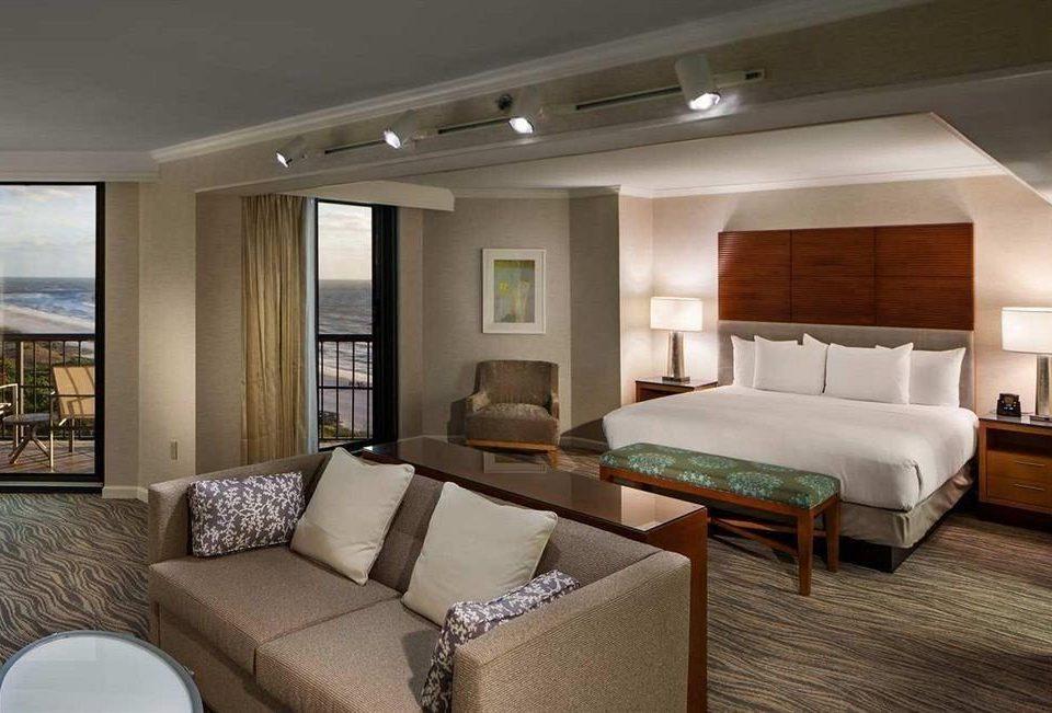 Balcony Beachfront Bedroom Romantic Waterfront property living room Suite condominium home cottage