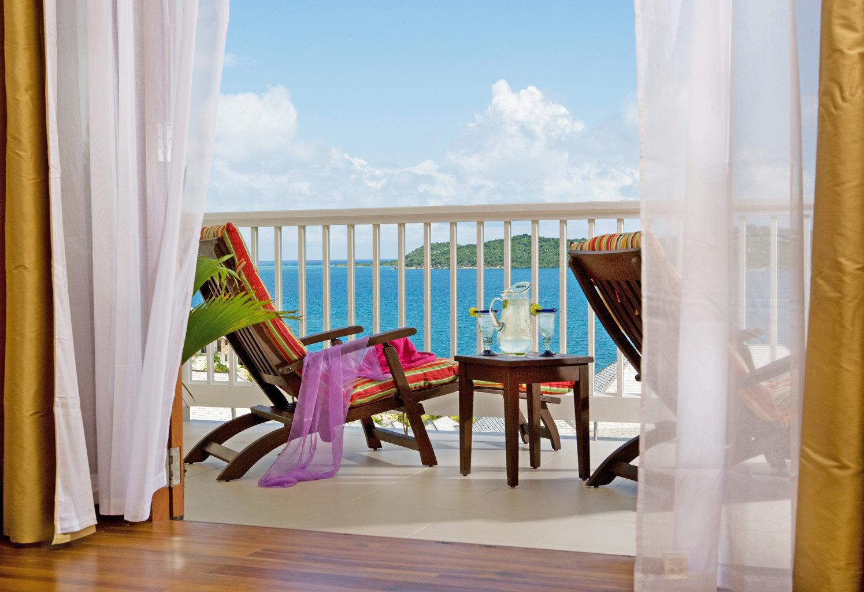 Balcony Beachfront Classic Deck Resort color property curtain house home living room Villa Suite cottage