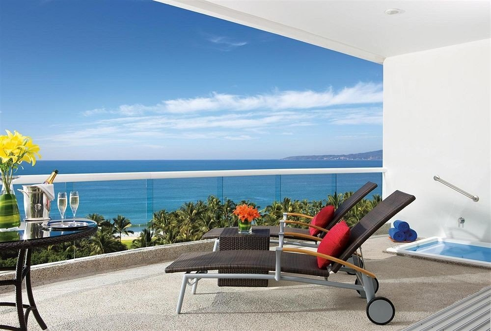 Balcony Beachfront Honeymoon Lounge Romance Scenic views leisure chair property Villa home condominium caribbean Resort cottage overlooking Deck
