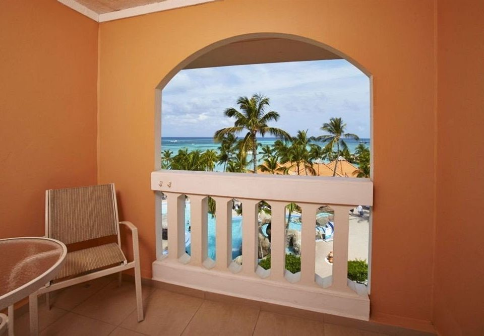 Balcony Beachfront Luxury property home cottage Villa