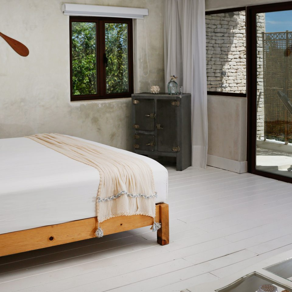 Balcony Bedroom Boutique Budget Rustic Tropical property house home cottage Villa Suite