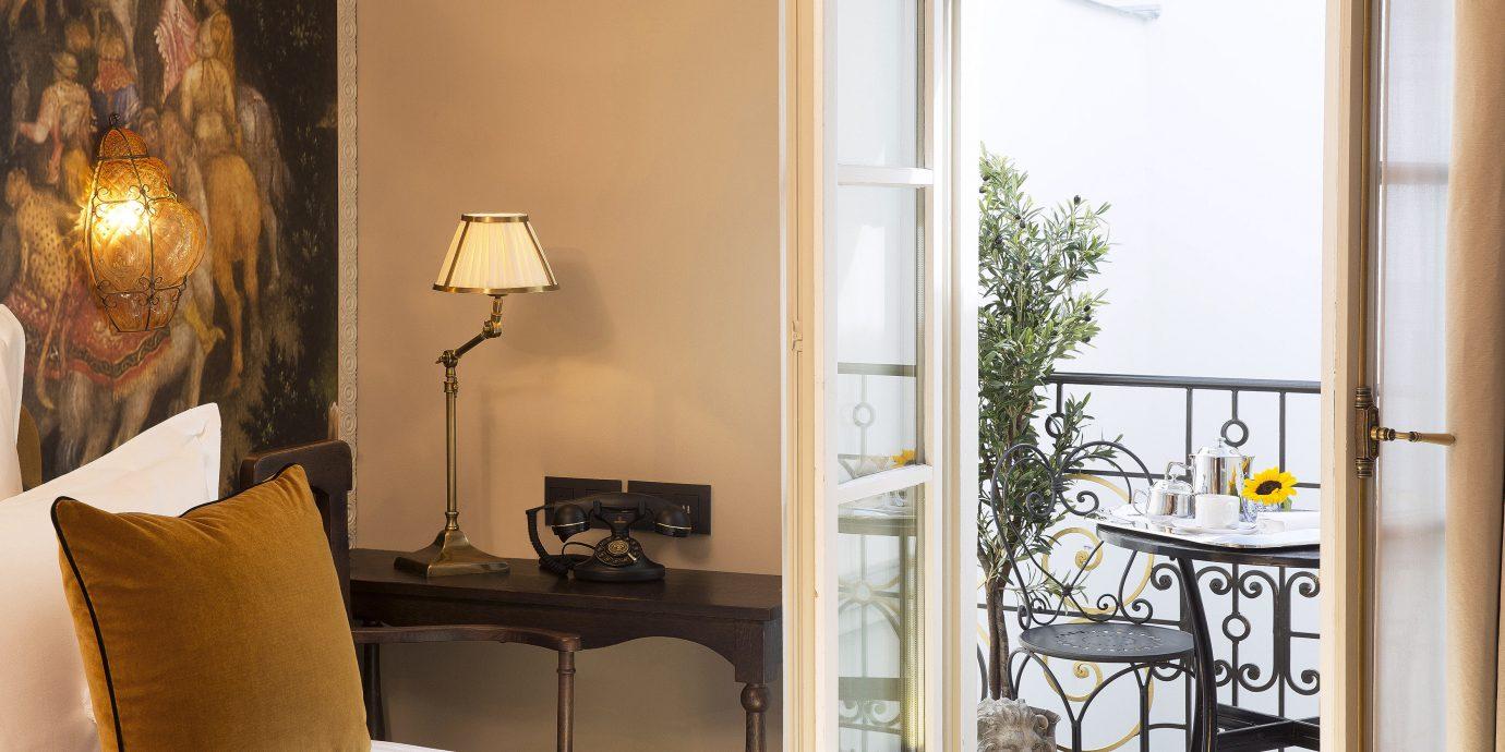 Balcony Bedroom City Elegant Historic Romantic property home living room