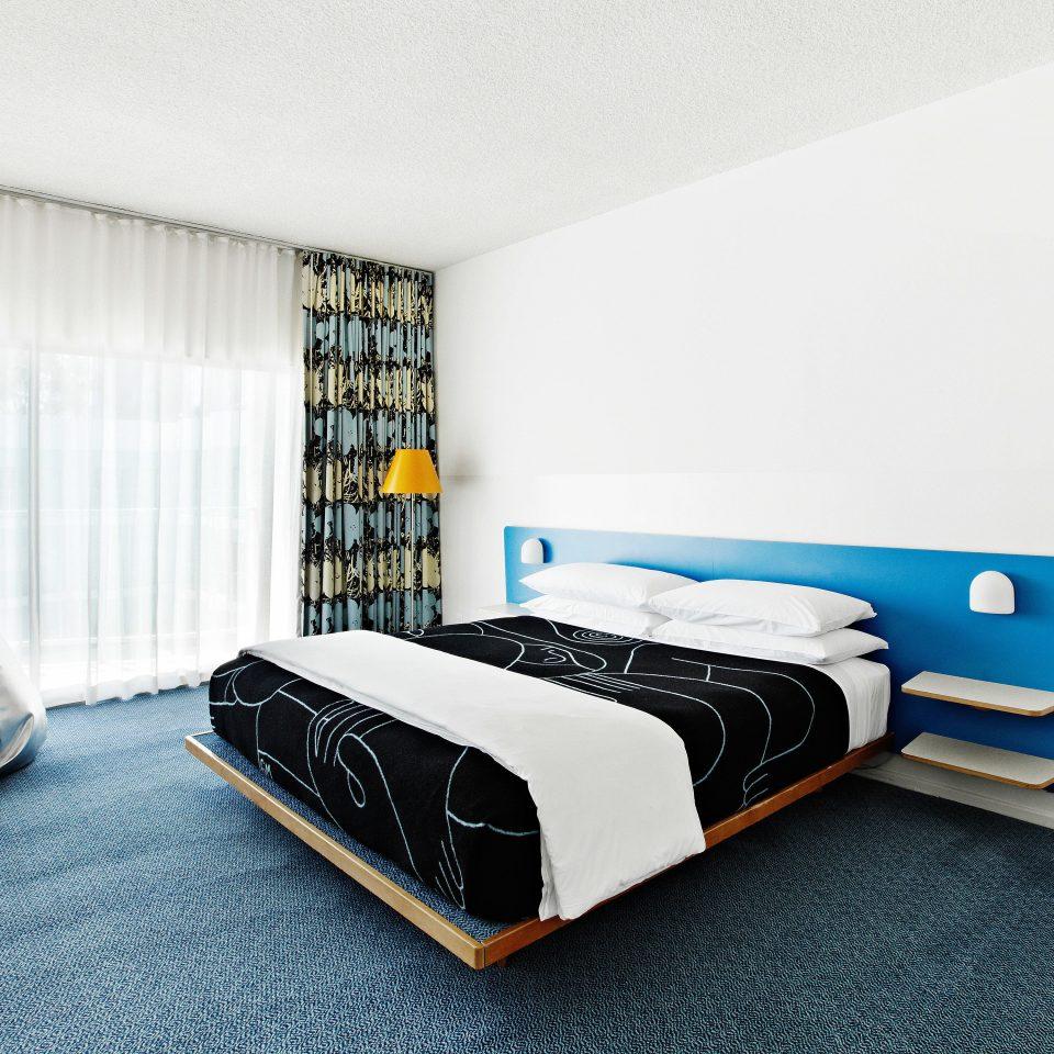 Balcony Bedroom City Hip property bed frame