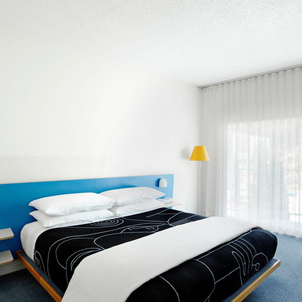 Balcony Bedroom City Hip bed frame bed sheet textile