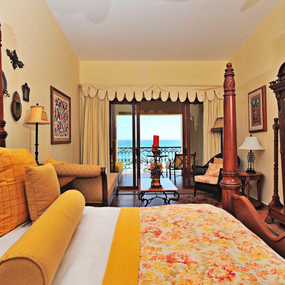 Balcony Bedroom Classic Elegant Luxury Resort Suite property living room home Villa cottage orange