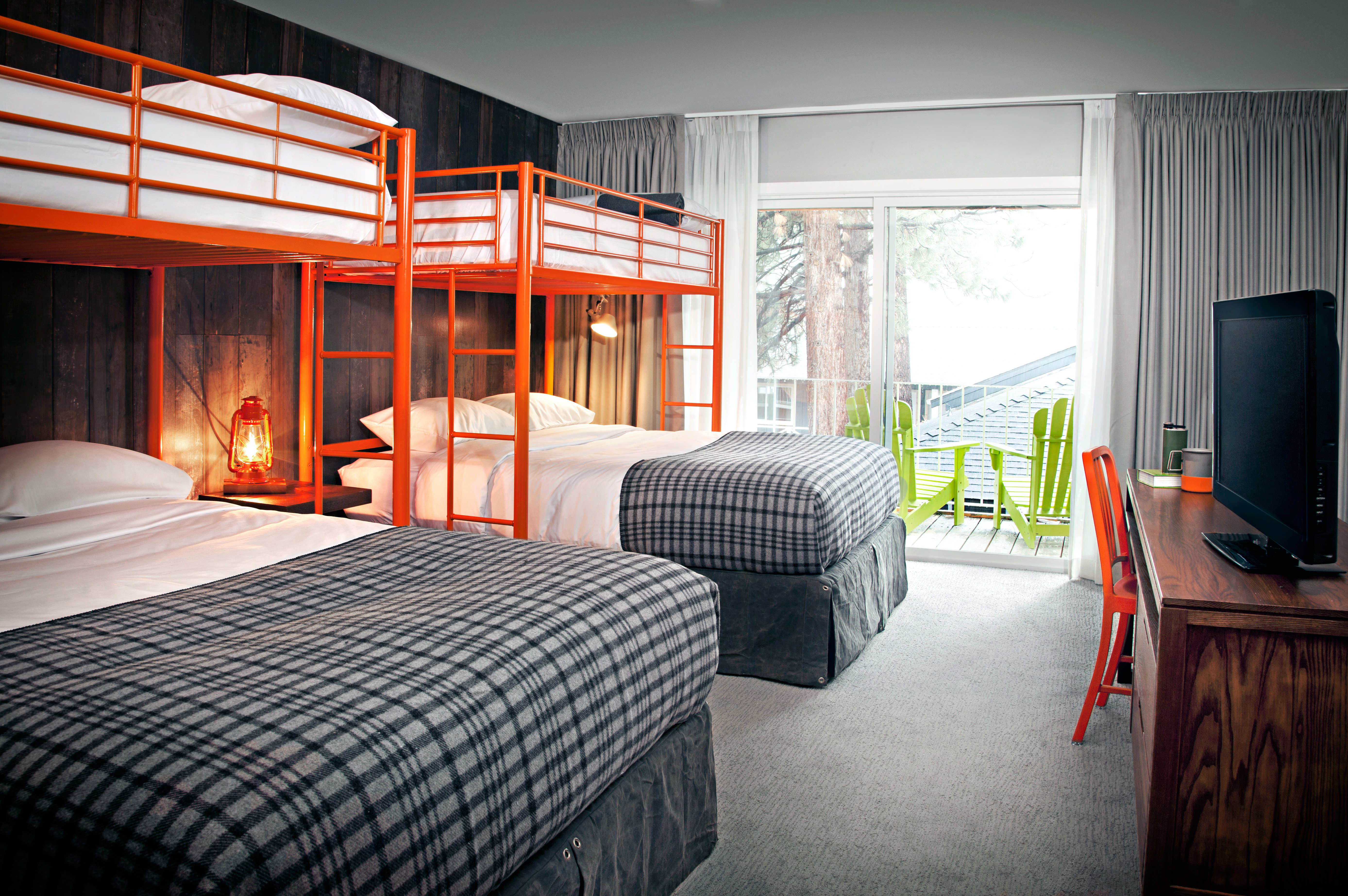 Balcony Bedroom Eco Glamping Modern Rustic property house home cottage Suite