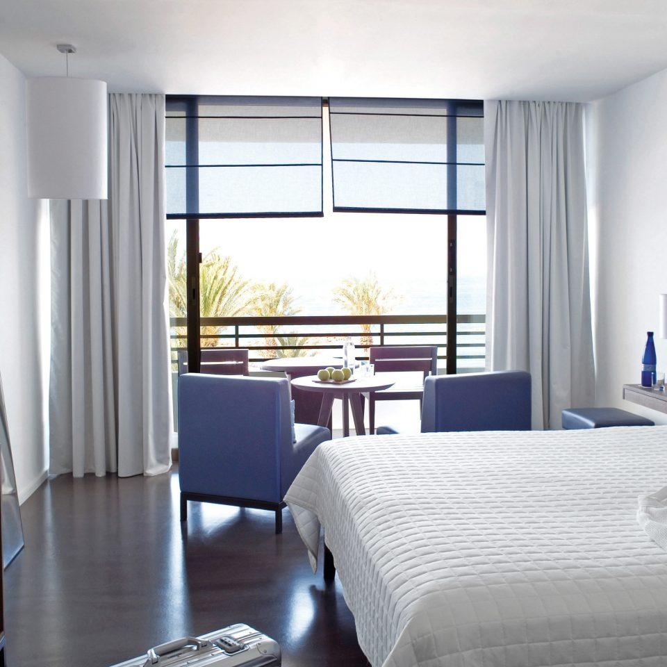 Balcony Bedroom Elegant Family Island Waterfront property condominium home Suite cottage living room