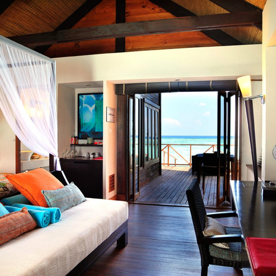 Balcony Bedroom Elegant Luxury Modern Scenic views Suite property Resort living room Villa home cottage