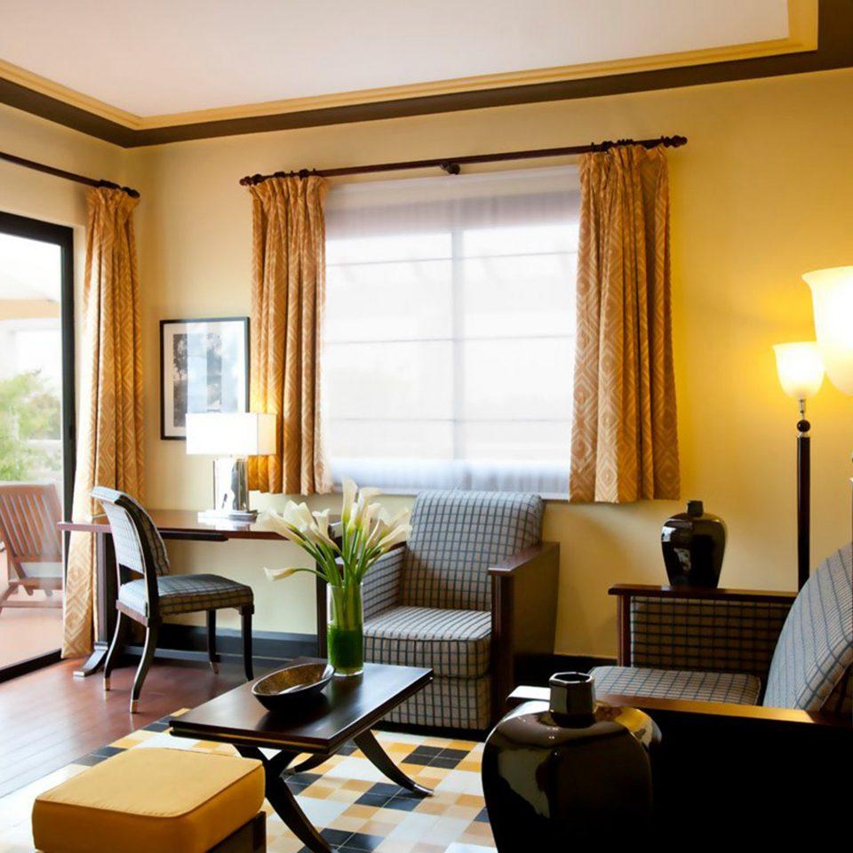 Balcony Elegant Modern property living room Suite condominium home nice Villa Bedroom