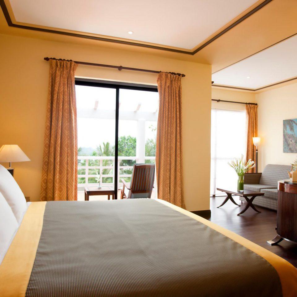 Balcony Bedroom Elegant Modern property Suite Resort pillow Villa cottage nice condominium lamp