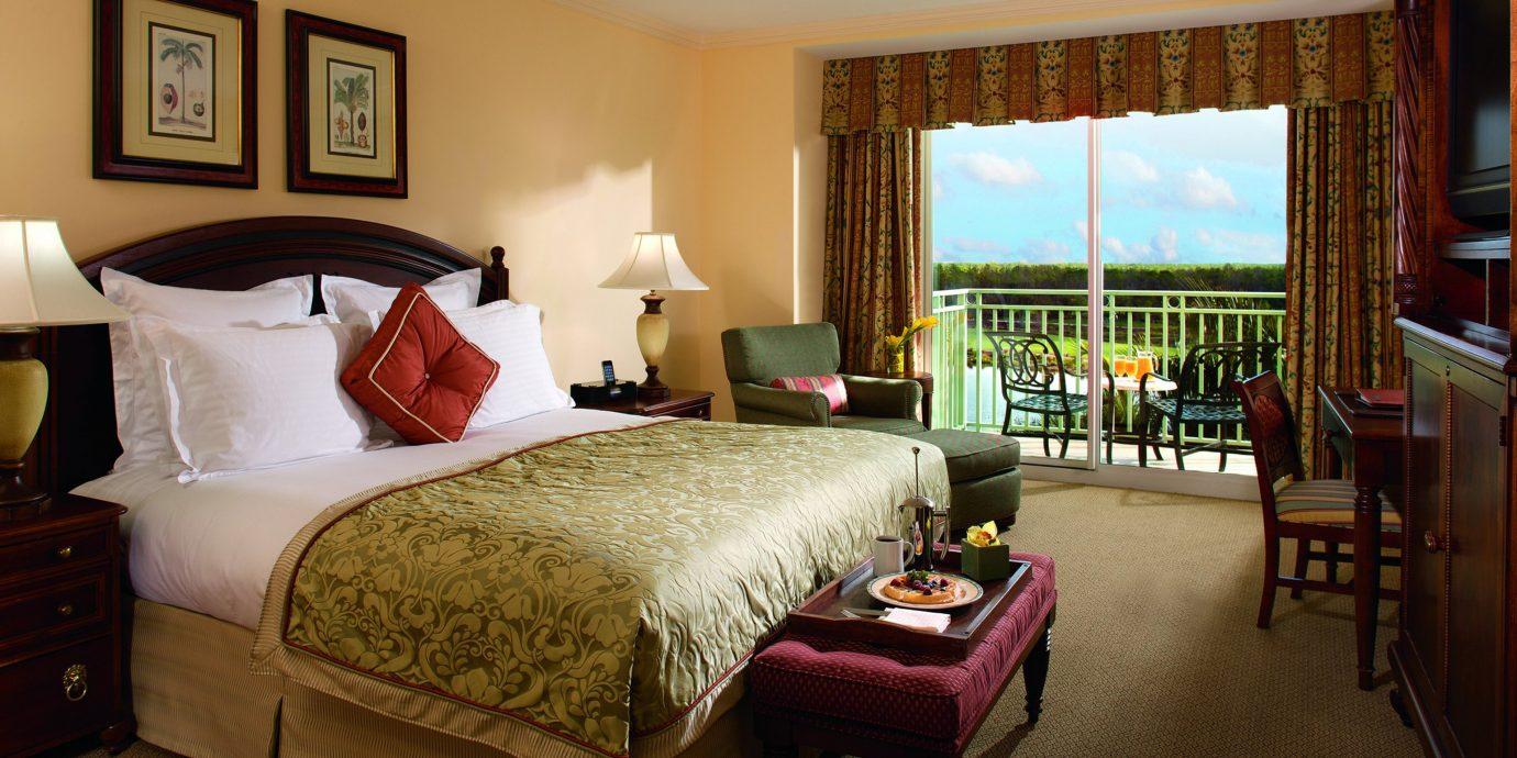 Balcony Bedroom Elegant sofa property Suite cottage home Villa living room Resort