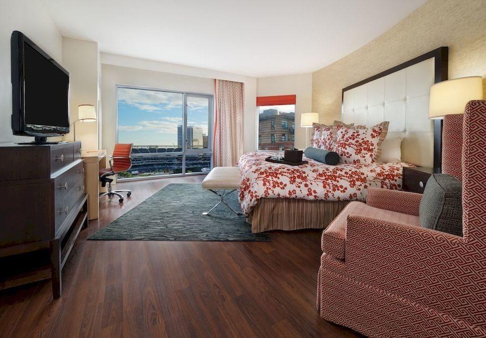 Balcony Bedroom Elegant Scenic views Suite sofa property living room hardwood home cottage wood flooring flooring