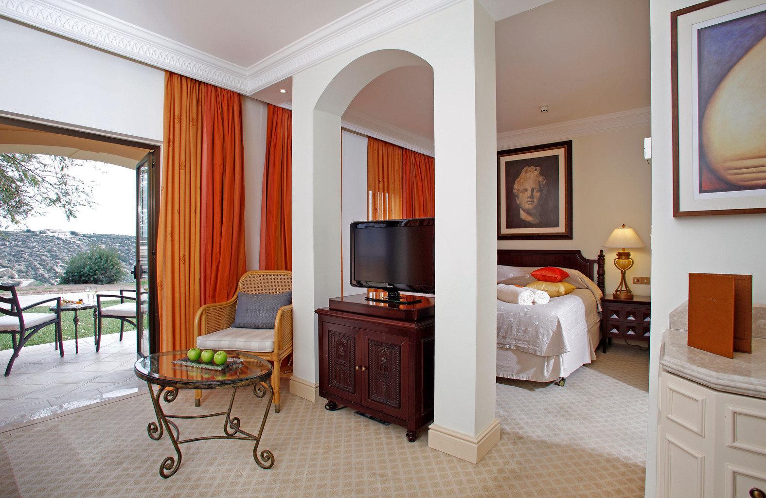 Balcony Bedroom Family Luxury Resort Suite Wellness property home cottage hardwood Villa living room
