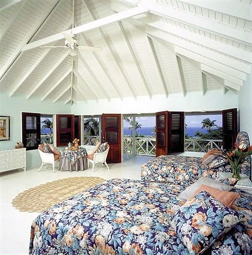 Balcony Bedroom Hip Luxury Suite Tropical property home bedclothes tent cottage living room porch