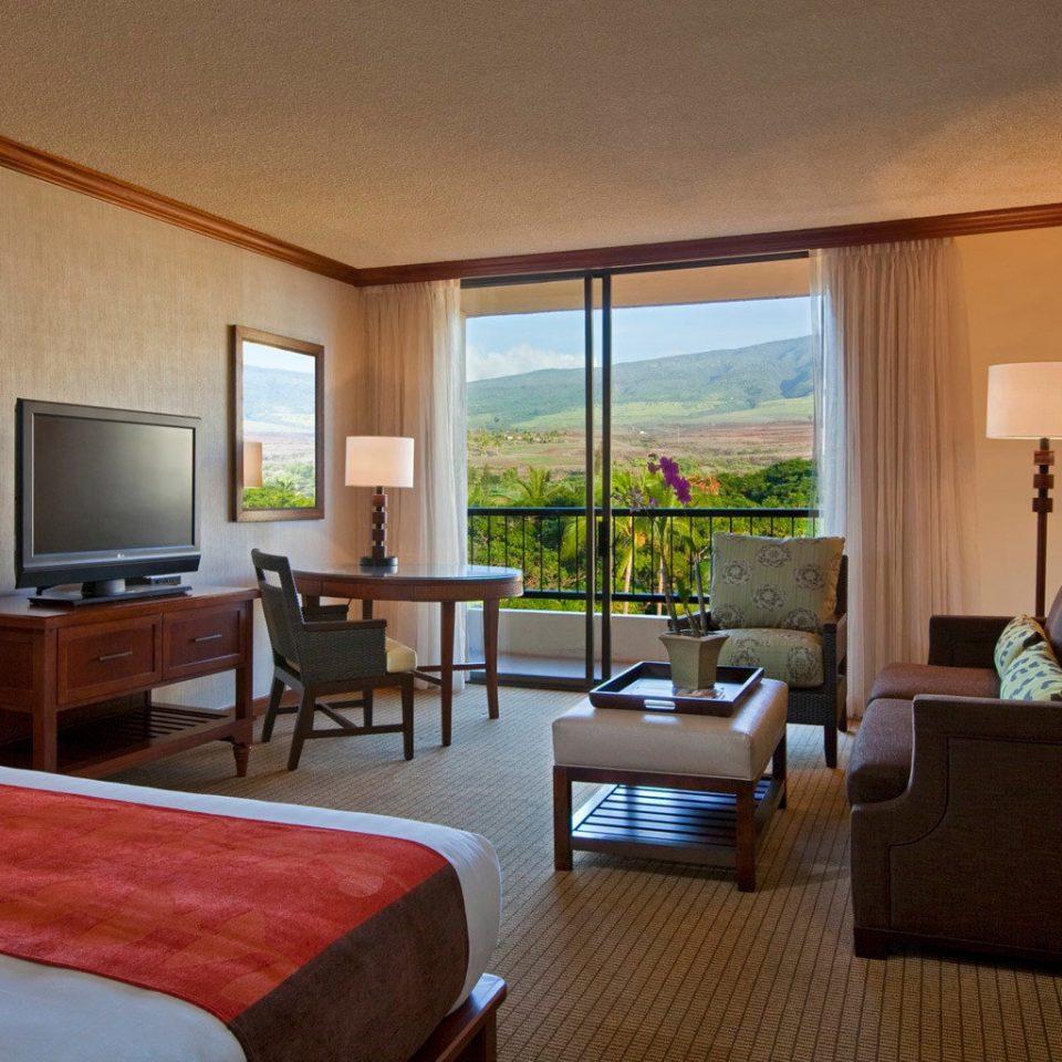 Balcony Bedroom Hip Luxury Modern Scenic views Suite sofa property condominium living room home Villa Resort cottage