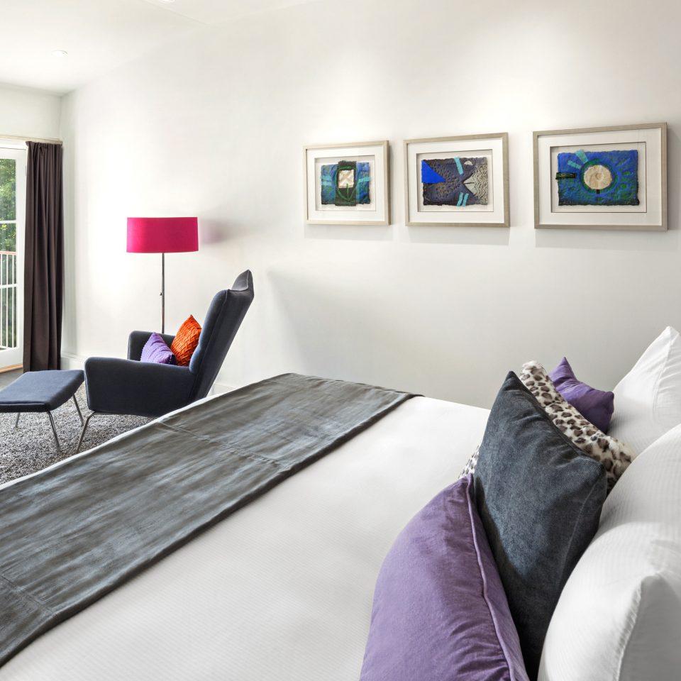 Balcony Bedroom Inn Modern property living room home cottage