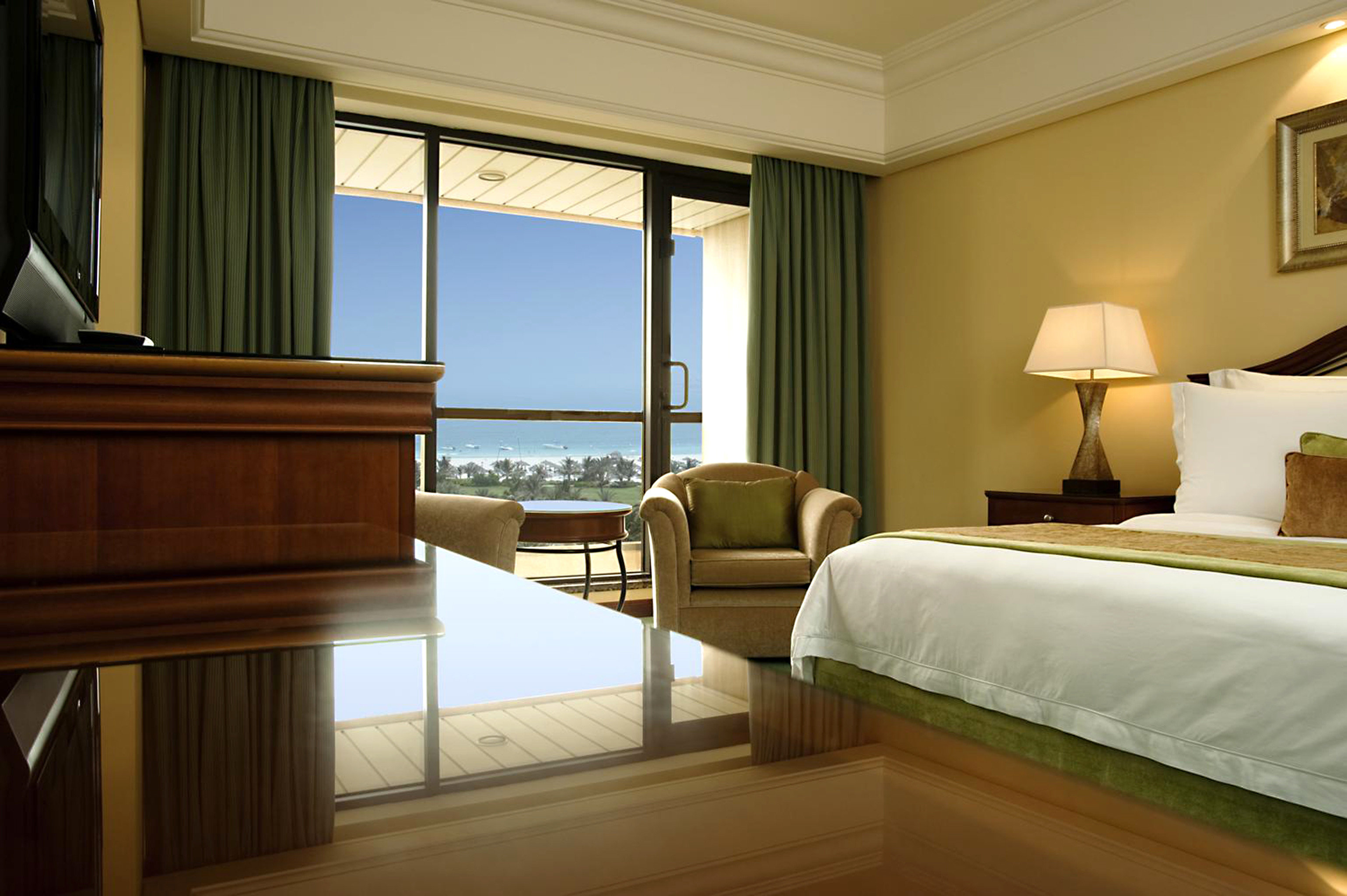 Balcony Bedroom Lounge Scenic views Suite sofa property home condominium pillow living room lamp night