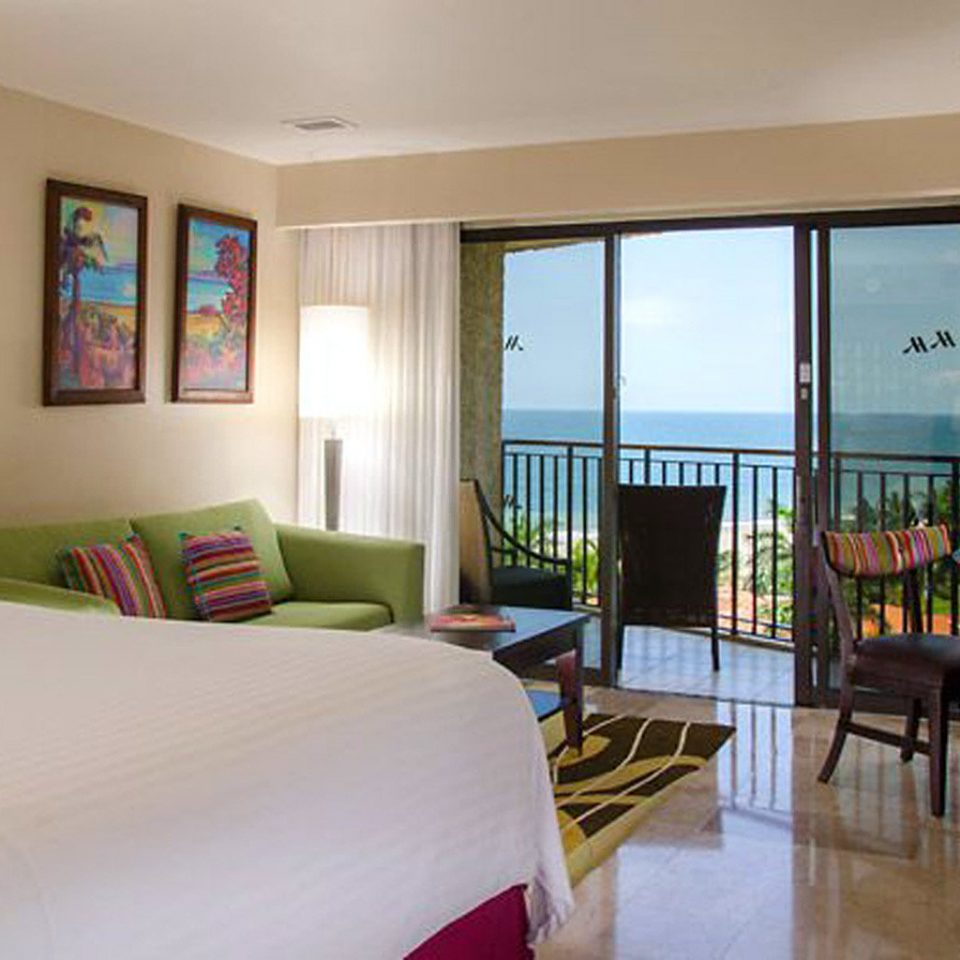 Balcony Bedroom Luxury Modern Scenic views Suite property condominium Villa Resort living room cottage flat