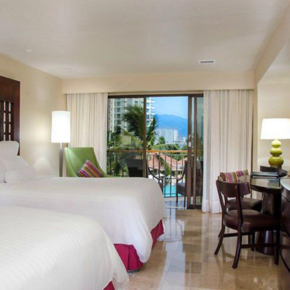 Balcony Bedroom Luxury Modern Scenic views Suite property condominium Resort Villa home living room cottage