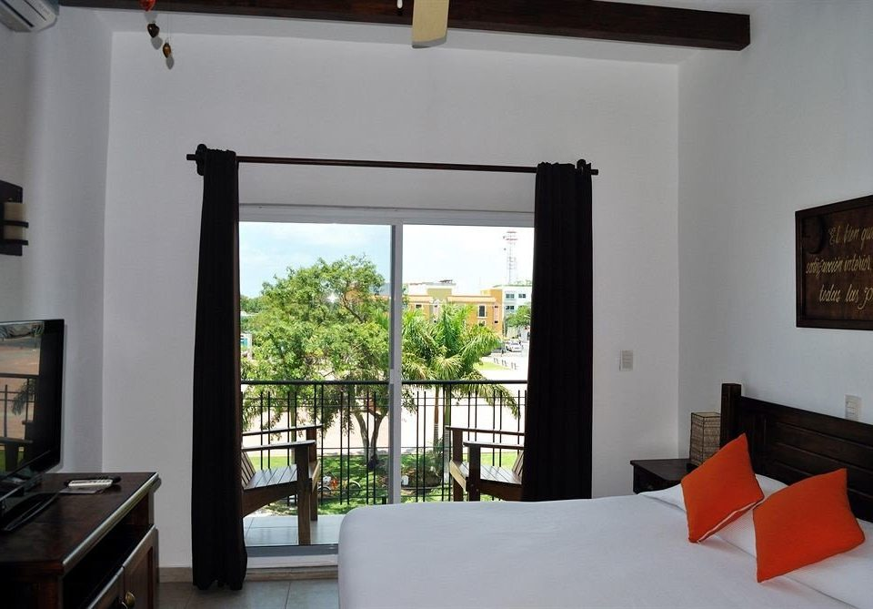 Balcony Bedroom Luxury Modern Scenic views Suite property building home Villa living room cottage hacienda